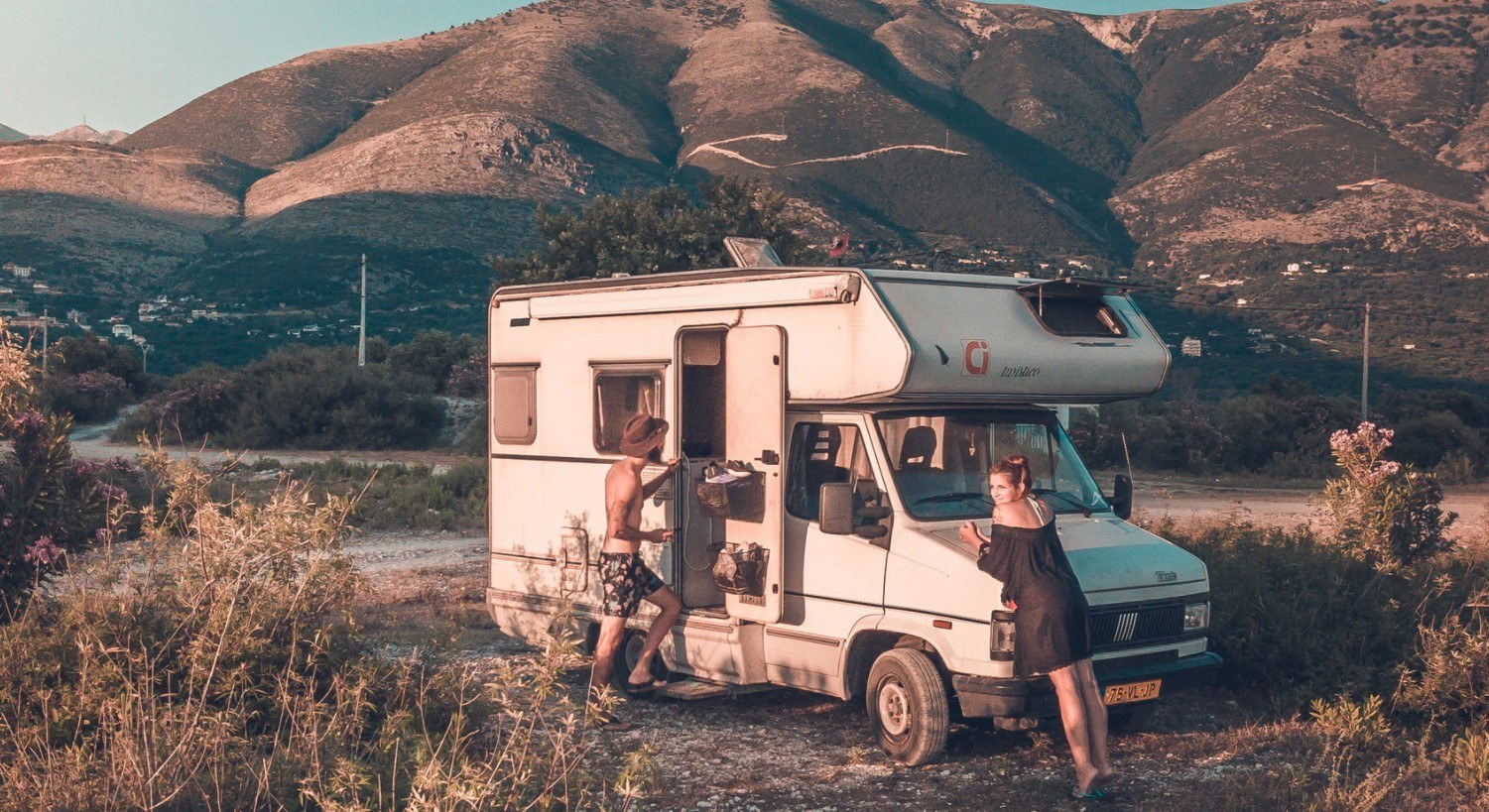 rv in the mountains needs the best antifreeze
