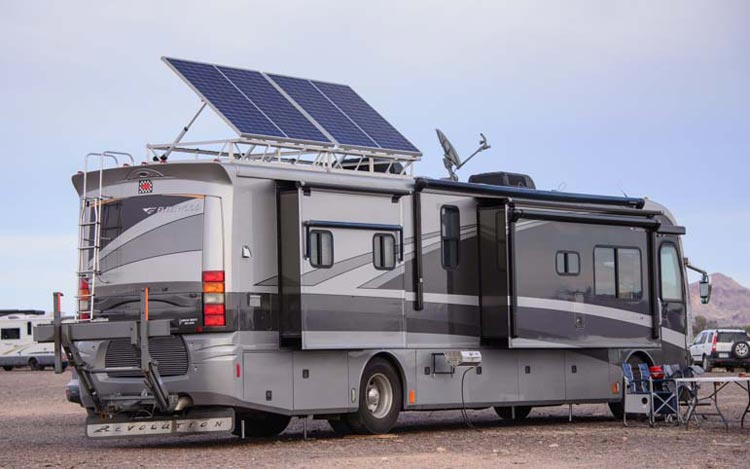 cost to install solar panels on rv