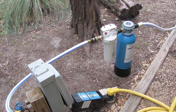 rv water softener system