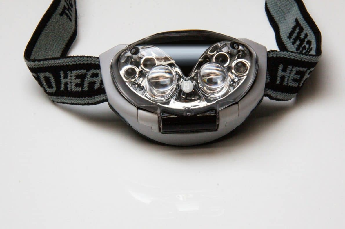 Unstrapped headlamp