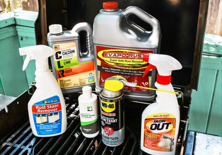 different brands of rust remover