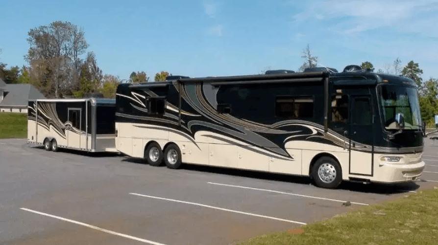 RV Tow Bar bus