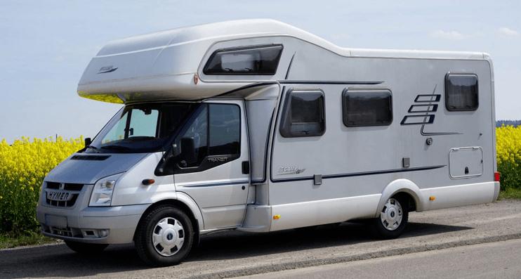 Camper van with RV Tow Bar