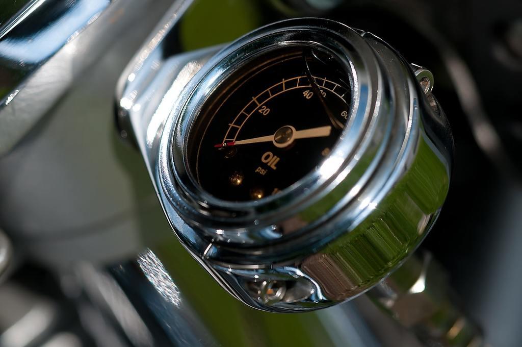 oil gauge meter level
