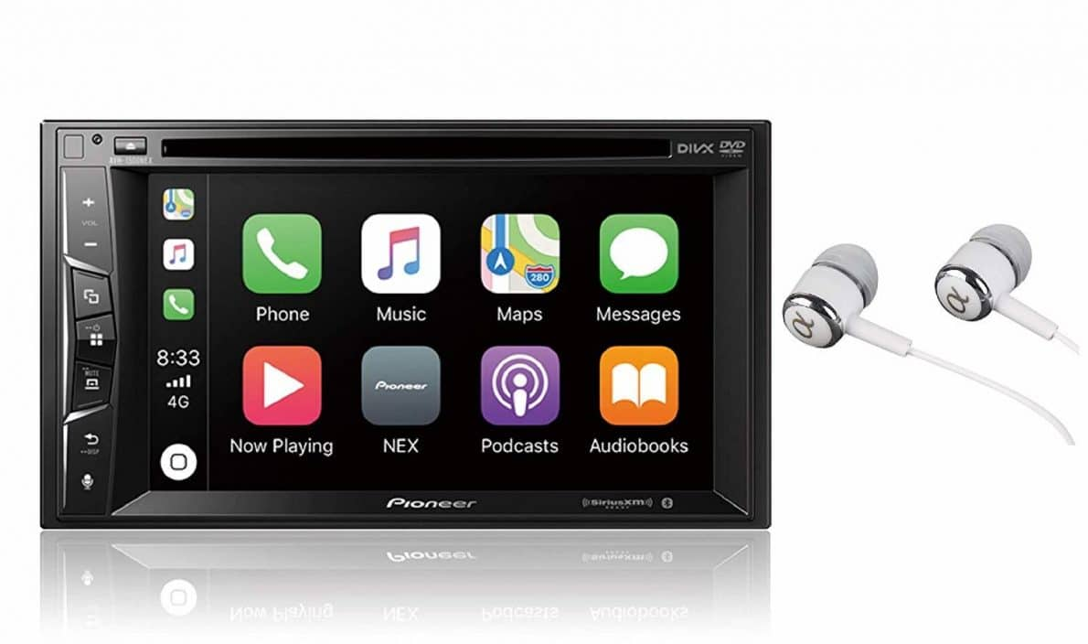 Pioneer AVH-1500NEX, one of the best double din head unit