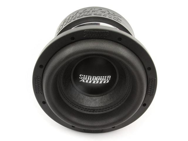 a car audio speaker ready to be installed