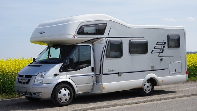 an rv trailer