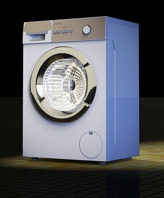 graphic illustration of a rv washer dryer