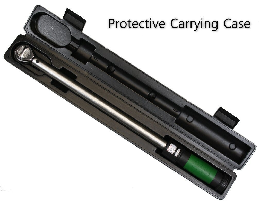 """eTORK (C3250) 1/2-Inch Drive""""Click Style"""" Torque Wrench Protective Case"""