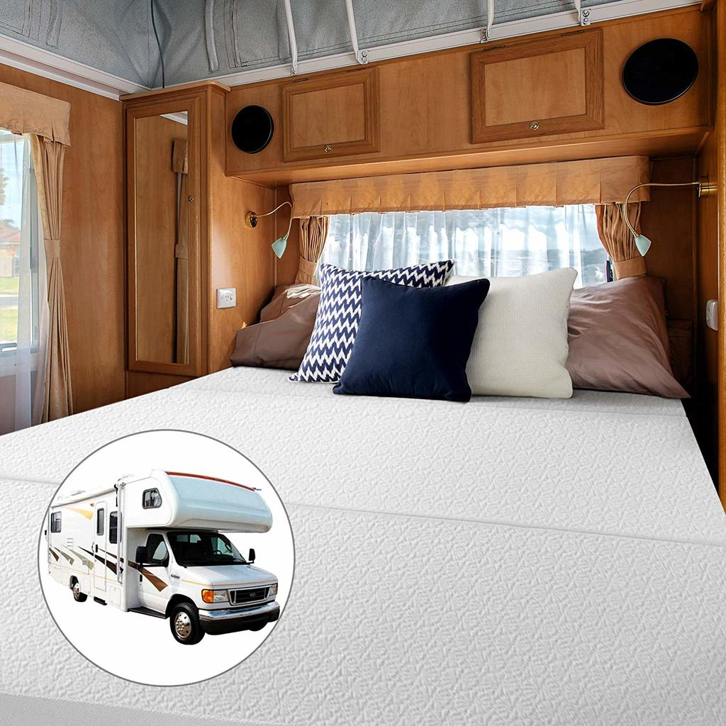 Short Queen Trifold Best RV Mattress Topper