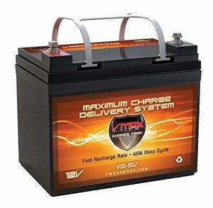 VMAX857 AGM RV Battery 12-volt 35AH Deep Cycle HI Performance Battery