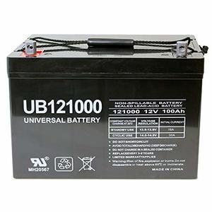Universal UB121000-45978 12-volt 100AH Deep Cycle Battery
