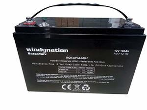 WindyNation 12 Volt Deep Cycle RV Batteries